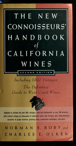 Download The new connoisseurs' handbook of California wines