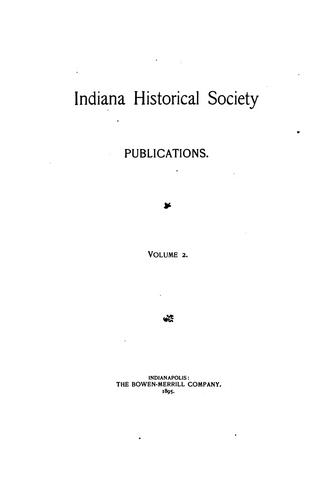 The laws and courts of the Northwest and Indiana territories.