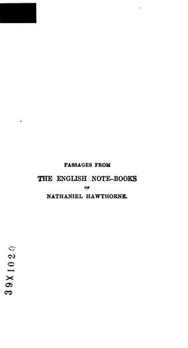 Download The Works of Nathaniel Hawthorne
