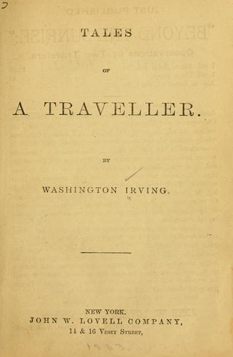 Download Tales of a traveller.