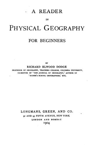 A reader in physical geography