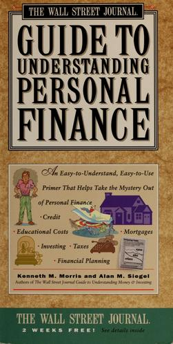 Download The Wall Street journal guide to understanding personal finance