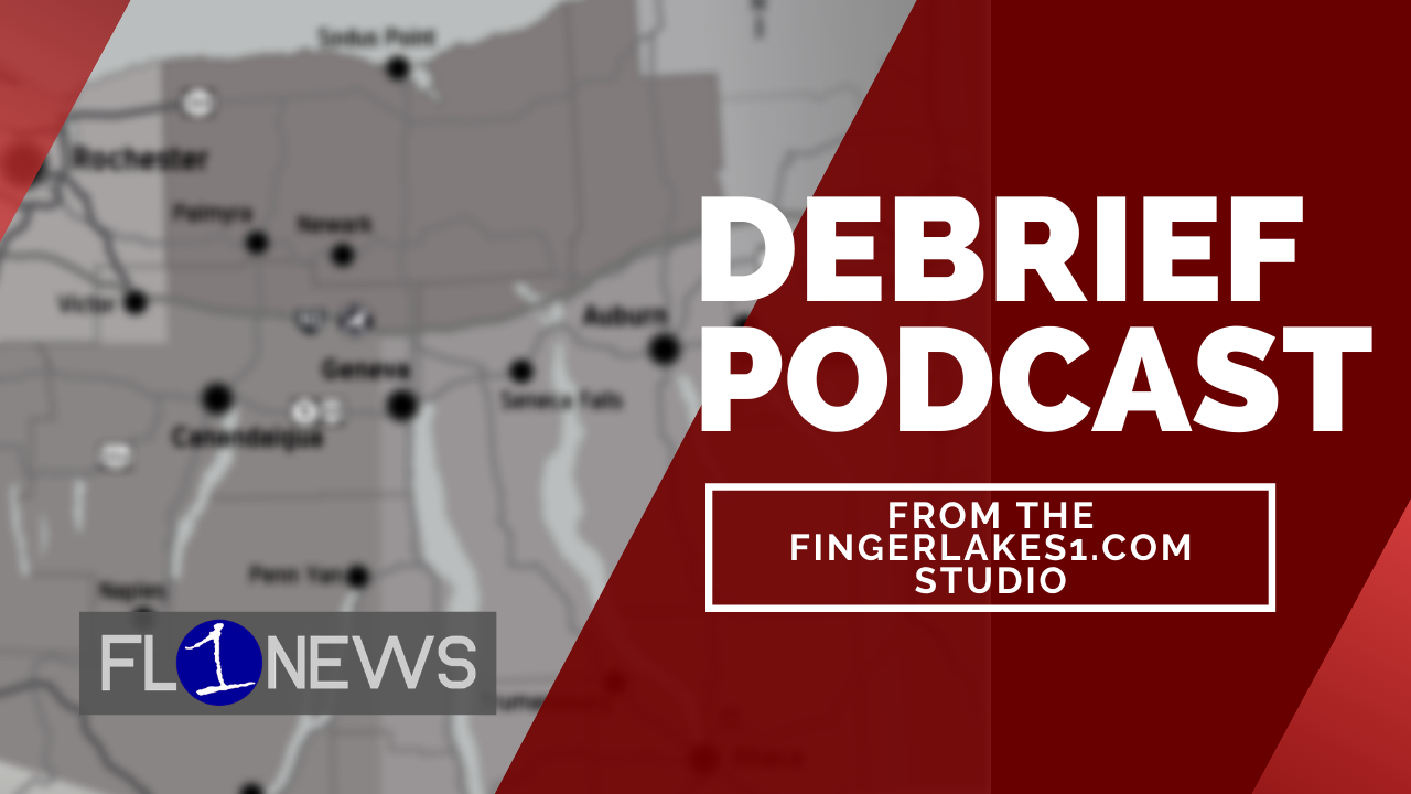 THE DEBRIEF: Talking Cayuga Nation coverage, changes in Geneva, and other headlines at 9:45 AM (podcast)