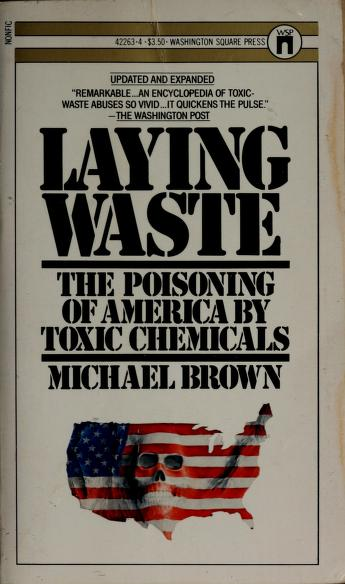 Cover of: Laying Waste  | Michael Brown